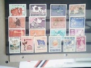 Viet Nam MNH  nice lot of stamps