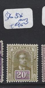 SARAWAK (P1309B)  20C  SG 58  MOG