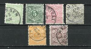 Germany 1875/94 Accumulation Wurttemberg Used 5386