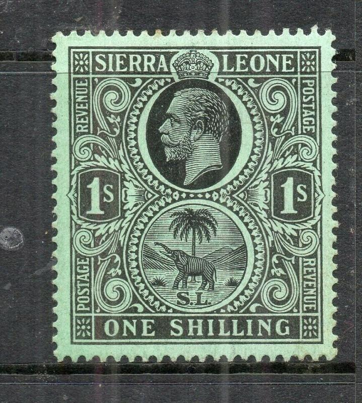 Sierra Leone 1912 Early Issue Fine Mint hinged Shade of 1S. 303686