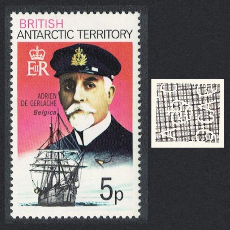 BAT Polar Explorer Adrien de Gerlache and 'Belgica' 5p SG#51