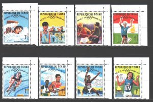 Chad. 1969. 240-63. Mexico City Summer Olympics. MNH.
