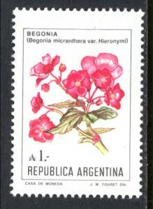 Argentina 1524 Flower MNH VF