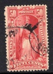 #PR119  50c Newspaper Stamp - USED and NICEo  cv$75.00