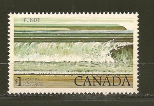 Canada 726 Fundy National Park $1.00 Issue MNH