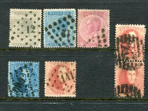 Belgium Classic  lot used - Lakeshore Philatelics
