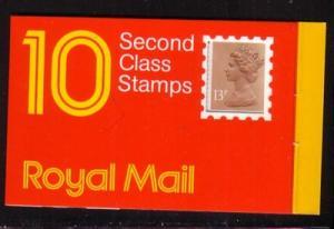 Great Britain Sc BK534 £1.30 Royal Mail stamp bklt