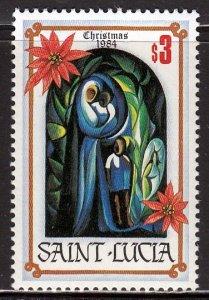 Saint Lucia, Sc 705, MNH, 1984, Christmas, (AA01648)