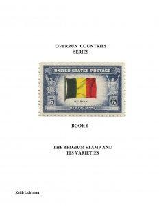 The Belgium Stamp & It's Varieties, Scott's 914, Spiral bound, 87 color pages