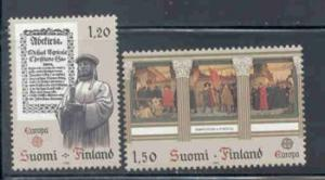 Finland Sc 668-9 1982 Europa stamps mint NH
