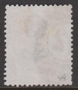 Great Britain 1873 QV 6d Gray Sideface Sc#60 Used
