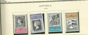 ANTIGUA SCOTT 528-31 MNH