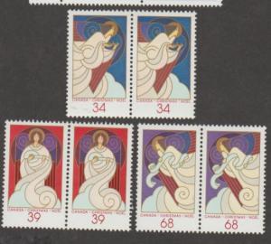 Canada Scott #1113-1114-1115 Christmas Stamp - Mint NH Pair