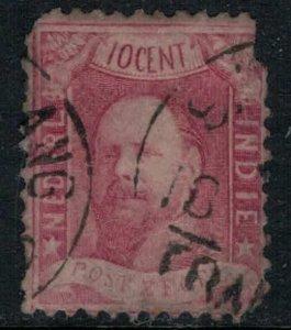 Netherlands Indies #2  faulty  CV $150.00