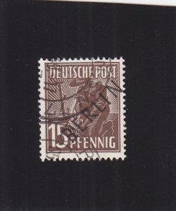 Germany-Berlin: Sc #9N6, Used (S18415)