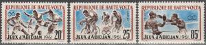 Burkina Faso #103-5 MNH F-VF CV $3.15 (SU6721L)