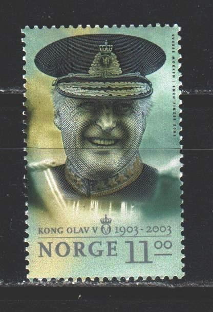 Norway. 2003. 1473 from the series. King of norway. MNH.