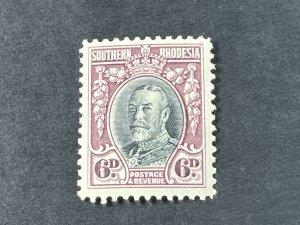 SOUTHERN RHODESIA # 22-MINT/HINGED-----SINGLE---1931-37