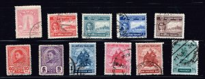THAILAND STAMP SIAM  USED STAMPS COLLECTION LOT #4