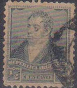 ARGENTINE, 1892, used ½c. blue Rivadavia
