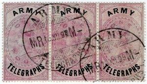 (I.B-BOB) QV Telegraphs : Army Telegraphs £1 (Modder Military - Boer War)