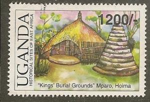 Uganda    Scott  1759      Burial Ground      Used