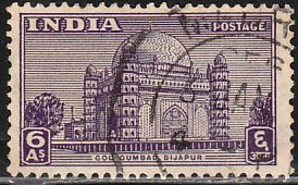 INDIA 215, ANCIENT SITE. USED. VF (452)