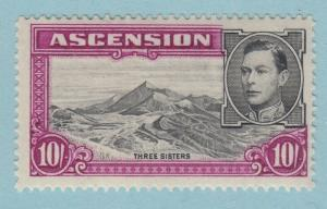 ASCENSION ISLAND 49a MINT LIGHTLY HINGED OG * NO FAULTS  VERY FINE!