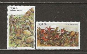 South Africa Scott catalog # 544-545 Mint NH