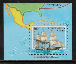 Benin #754 MNH S/Sheet - Ships