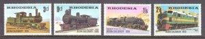 Rhodesia - Scott #267-270 - MNH - SCV $13.75