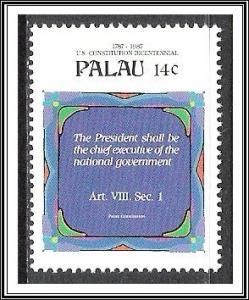 Palau #155 US Constitution Bicentennial MNH