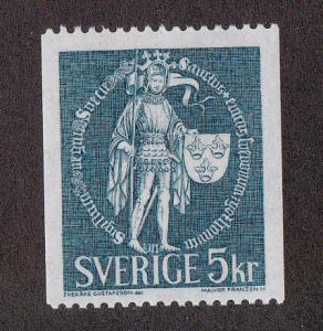 Sweden # 752, Definitive, Mint NH, 1/2 Cat.