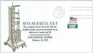 73857 - USA - Postal History - SPECIAL Cover  1973 - SPACE Astro SKYLAB