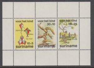 Suriname B321a Souvenir Sheet MNH VF