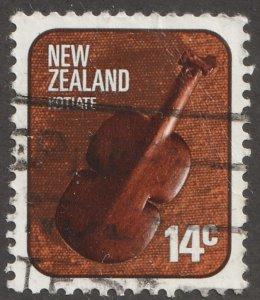 New Zealand stamp, Scott# 614, used, single stamp,  #614