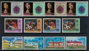 St. Lucia #308-19* NH  CV $3.90