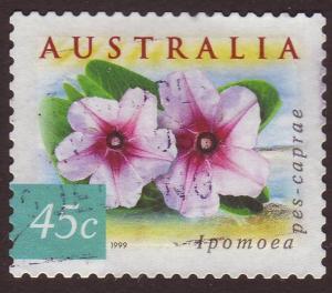 Australia 1999 Sc#1746K 45c Ipomoea, Flora Used