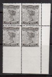 Prince Edward Island #9iii NH Mint Imperforate Rare Block