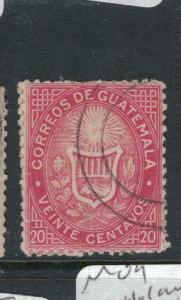 Guatemala SC 4 VFU (2dwa)