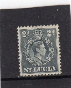 St Lucia Geo Vl Defin MH