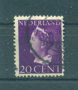 Netherlands sc# 221 used cat value $.25