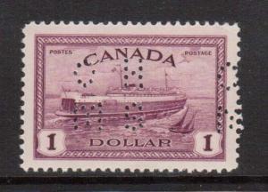 Canada #O273 VF Mint