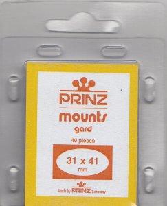 PRINZ 31X41 (40) BLACK MOUNTS RETAIL PRICE $3.99