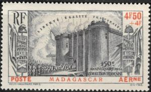 Madagascar #CB1 M/H 25% of SCV $18.00 **FREE SHIPPING**