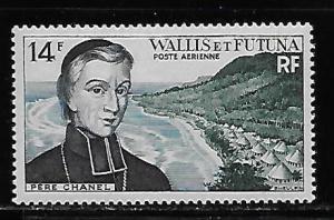 Wallis and Futuna Islands C12 Father Chanel single MNH