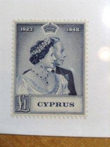 Cyprus  # 159  MNH