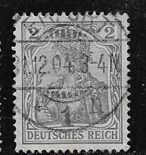 Germany Sc.65c /Mi. 68 Used L99