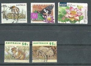 Australia 683,1280,1285,1532+1    used  PD