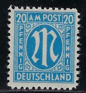 Germany AM Post Scott # 3N11, mint hr